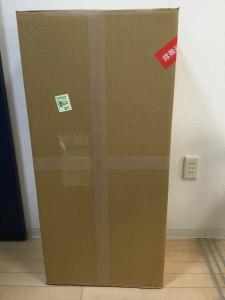 とても大きな箱に入っていました
