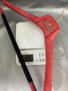 重さを測ってみました
