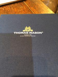トーマスメイソンのバンチです