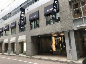 BEAMS銀座店
