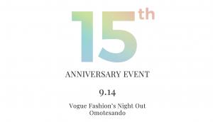 YOOX日本上陸15周年イベント