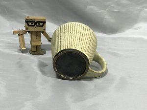 額賀章夫さんのマグカップ