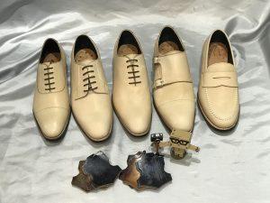 スペインのタンナーで製作した靴