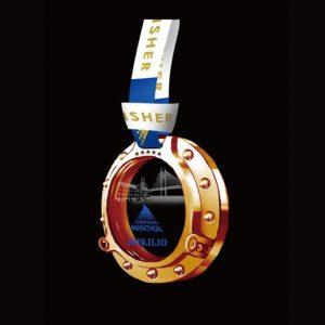 横浜マラソン2019完走メダル